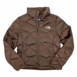 The North Face Brown 550 Goose Down Jacket XS